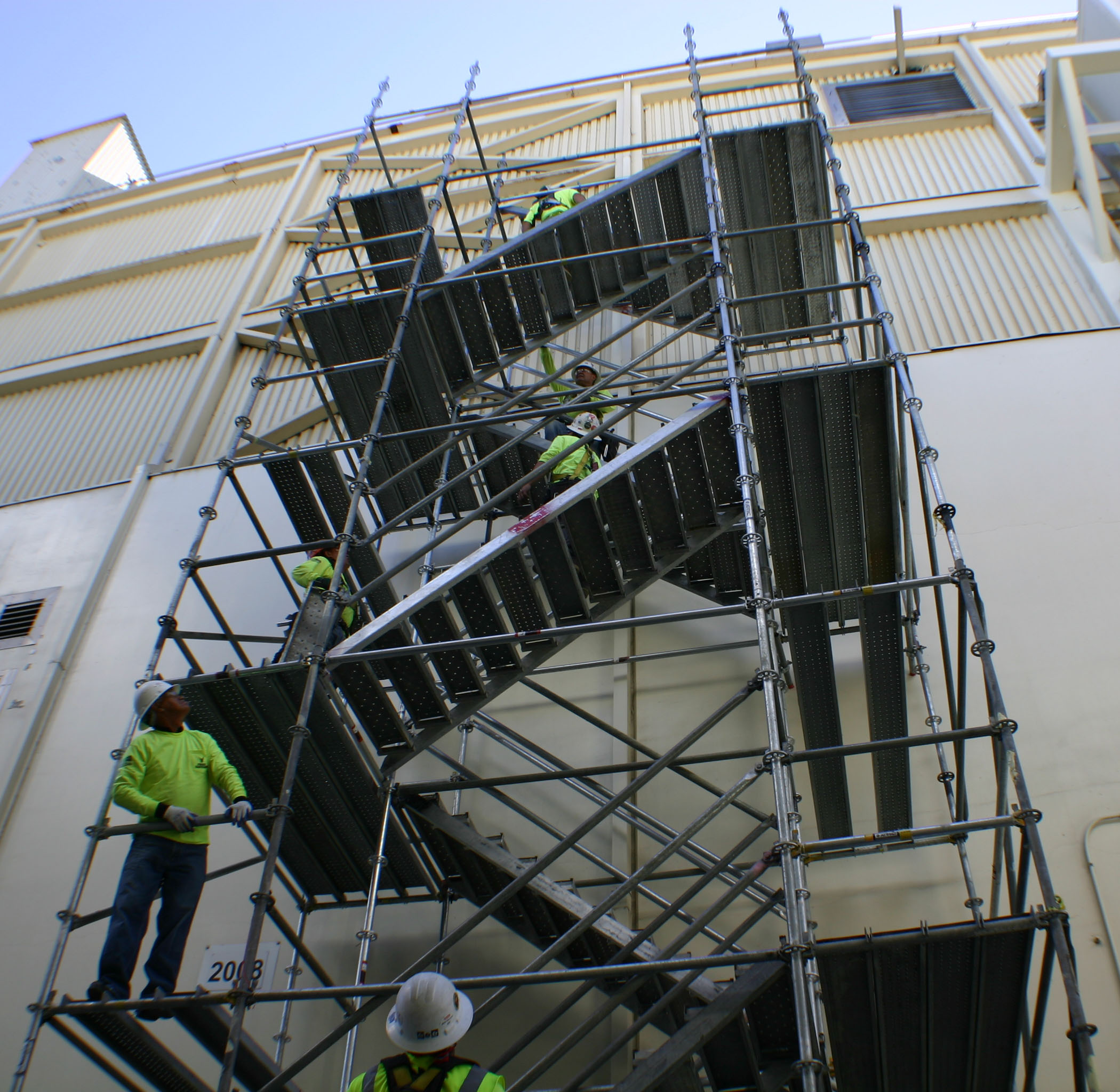 Systems stair tower